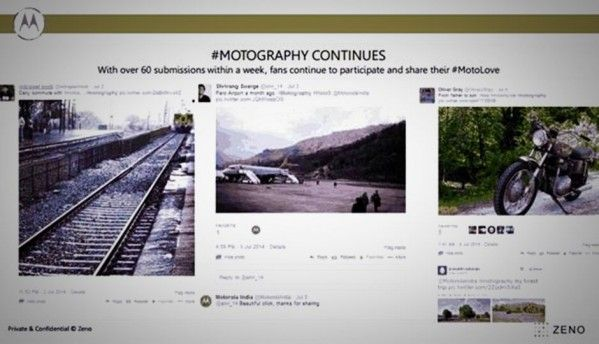 Motorola launches 'Motography' contest in India