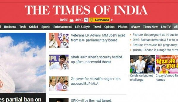 TOI wants access to all of its journalists' Facebook, Twitter accounts