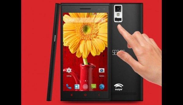 Swipe Sense with fingerprint sensor launched at Rs. 9,999