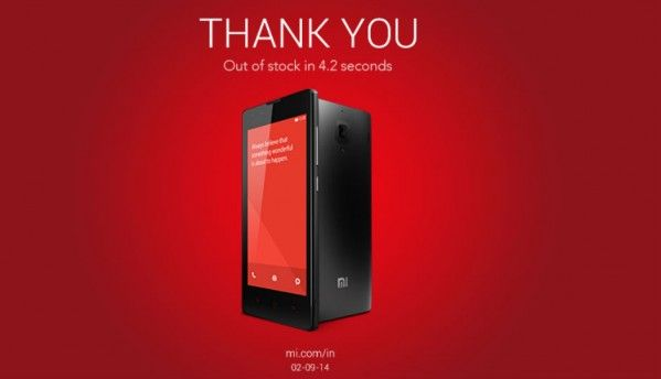 Xiaomi Redmi 1S is out of stock, here's what else you could buy