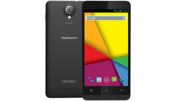 Karbonn Titanium S5 Ultra, quad-core smartphone launched at Rs. 6,999