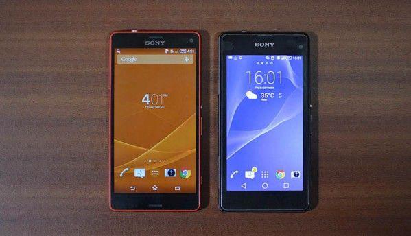 Sony Xperia Z1 Compact vs. Sony Xperia Z3 Compact