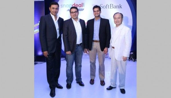 Snapdeal gets $627 million investment from Japan's Softbank