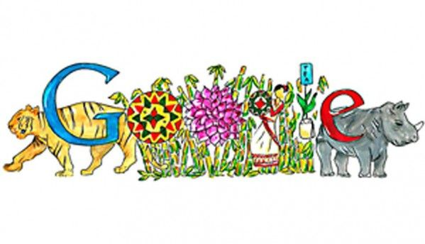 Google doodle celebrates Children's Day