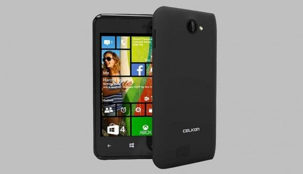 Windows Phone 8.1 based Celkon Win 400 launched at Rs. 4,979