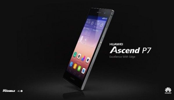 Huawei Ascend P7 launched in India at Rs. 24,799
