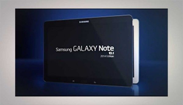 Samsung Galaxy Note 10.1 (2014 edition) image leaks