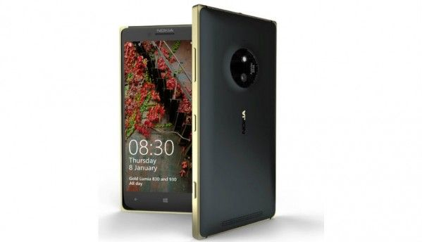 Microsoft launches gold versions of Lumia 830 and 930