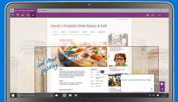 Microsoft's Spartan web browser to support extensions