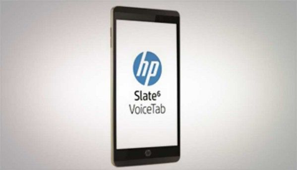 HP Slate 6 and Slate 7 VoiceTab to be launched in India next month