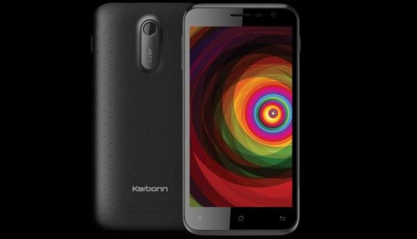 Karbonn Titanium Dazzle smartphone launched at Rs 5,490