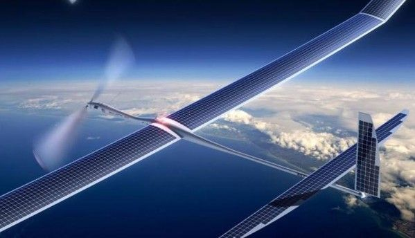 Facebook tests 'Aquila' drone