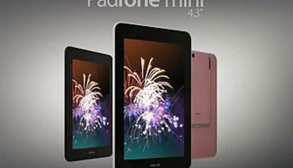 Asus Padfone mini with 4.3-inch phone, 7-inch tablet combo goes official