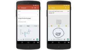 New Google Input app lets you handwrite your messages on Android