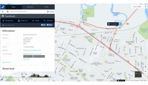 Nokia Maps to power Facebook Mobile, Instagram And Messenger
