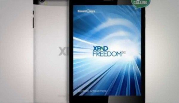 Simmtronics launches XPAD Freedom Android 4.2-based 3G tablet