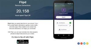 Flipd Android app removes distractions & checks phone addiction