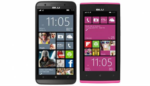 Blu announces two Windows Phone 8.1-powered smartphones in India