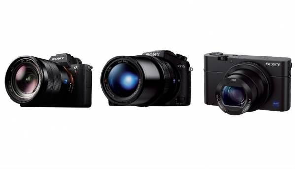 Sony launches Alpha 7R II, Cybershot RX10 II and RX100 IV