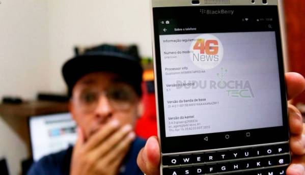 Android-powered BlackBerry Passport spotted online, updated