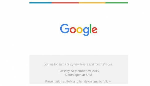 Google announces event for September 29, might launch Nexus devices