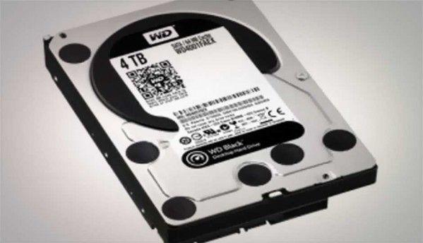 Western Digital launches WD Black 4 TB hard drive