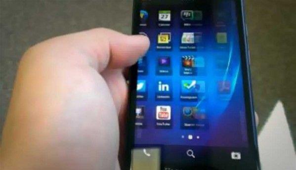 BlackBerry Z30 appears in new video leak