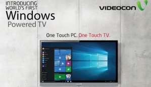 Videocon launches Windows 10-powered TV, starting at Rs. 39,990