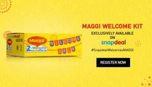 Welcoming Maggi back… with a flash!