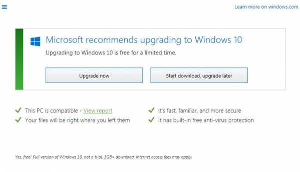 """Get Windows 10"" app gets even more persistent"