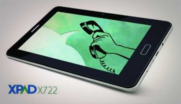 Simmtronics launches XPAD X-722 voice-calling ICS tablet at Rs. 5,999