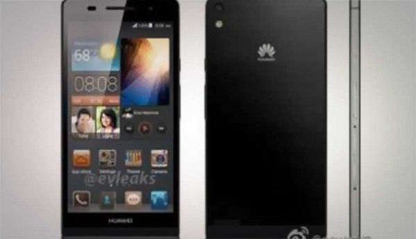 Huawei Ascend P6 specs leak ahead of official announcement