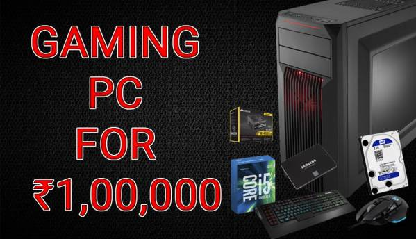 Building a gaming PC under Rs. 1 lac