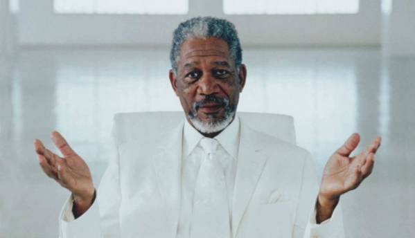 Morgan Freeman will now guide you to your destination...through GPS