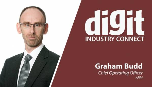 Talking digital trends with ARM's COO Graham Budd