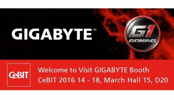 Gigabyte to showcase its latest Motherboards, HEDT and BRIX products at CeBIT 2016