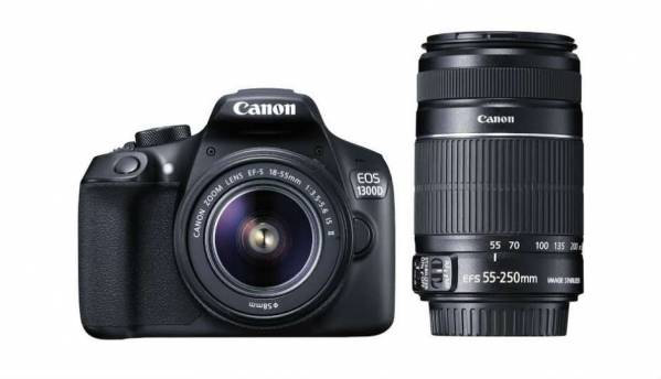 Canon EOS 1300D launched in India, prices start at Rs. 29,995