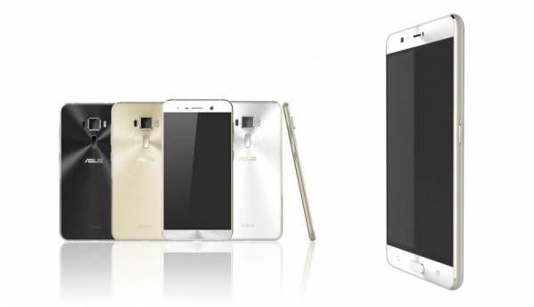 Images of Asus Zenfone 3 & Zenfone 3 Deluxe surface online