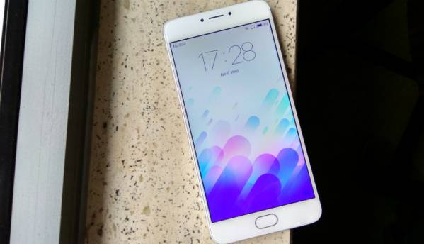 Meizu m3 Note: In Pictures