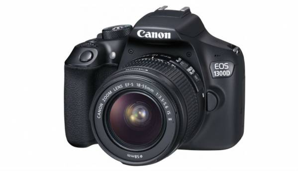 10 things you should know about the Canon EOS 1300D