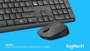 Logitech launches spill-resistant wireless keyboard and mouse combo