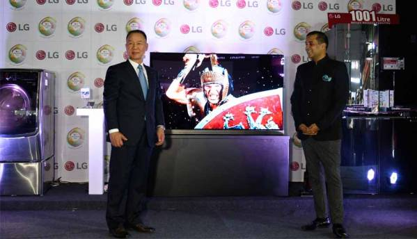 LG showcases its 'Signature Series' collection at the LG Tech Show 2016 in Mumbai