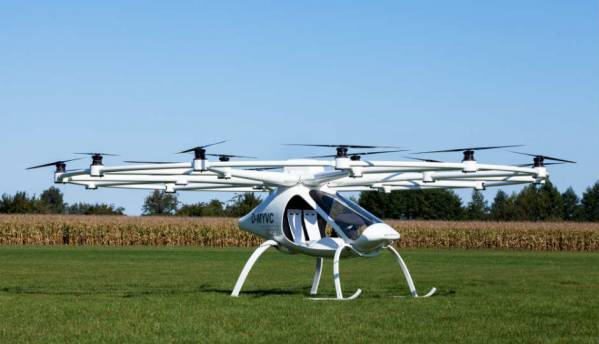 Volocopter is a giant drone that people can ride