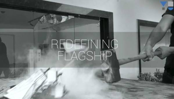 Yu teases 'redefining flagship' in a very literal video