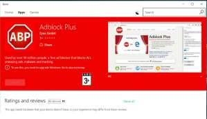 Microsoft Edge users can now use Adblock, Adblock Plus extensions