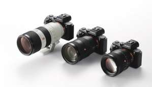 Sony unveils G Master interchangeable lenses