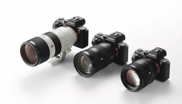 Sony unveils G Master interchangeable lenses