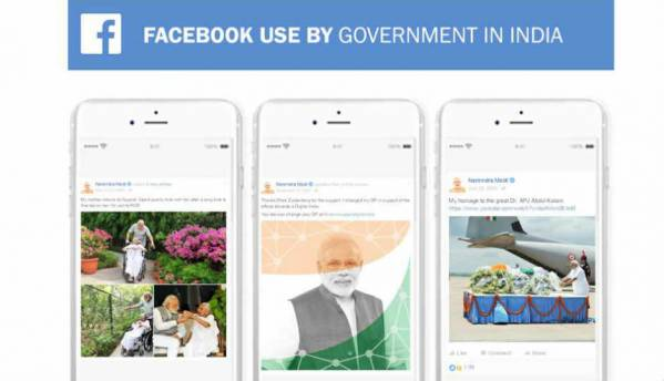 Recapping 2 years of the Modi government on Facebook