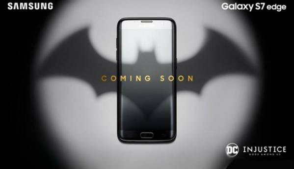Samsung Galaxy S7 Edge will have a special Batman edition, soon