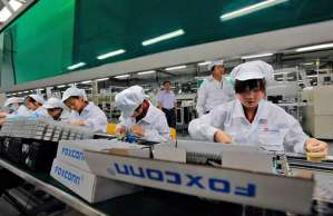 iPhone maker Foxconn replaces 60,000 workers with robots